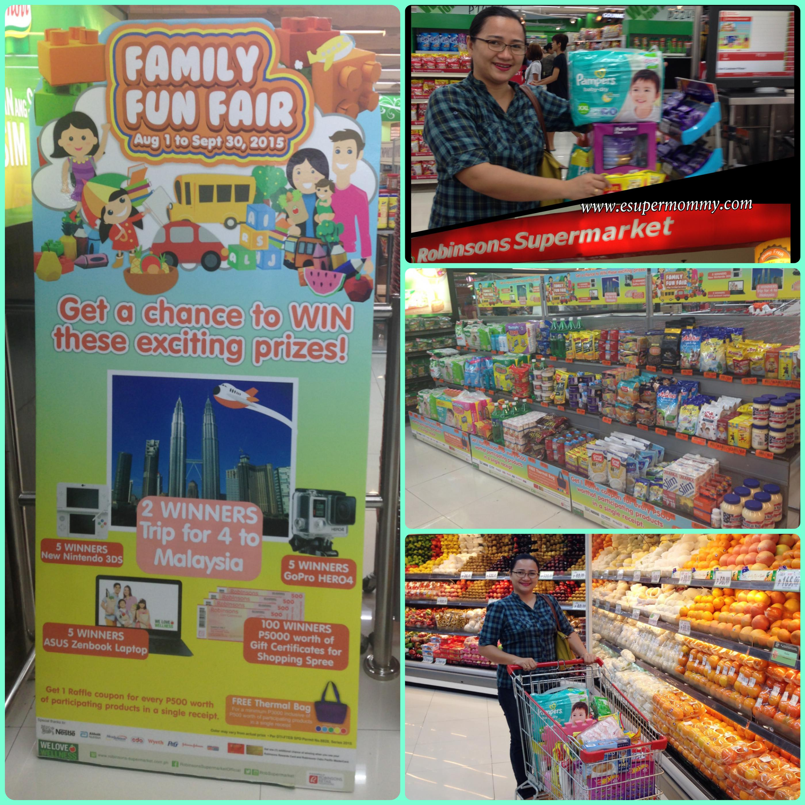 Family Fun Fair Promo at Robinsons Supermarket