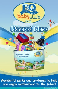 How to be a member in EQ Baby Club?