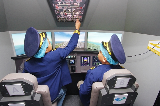 Pilots-in-Training at KidZania