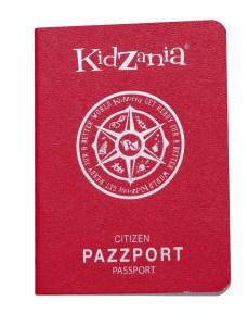 KidZania Passport