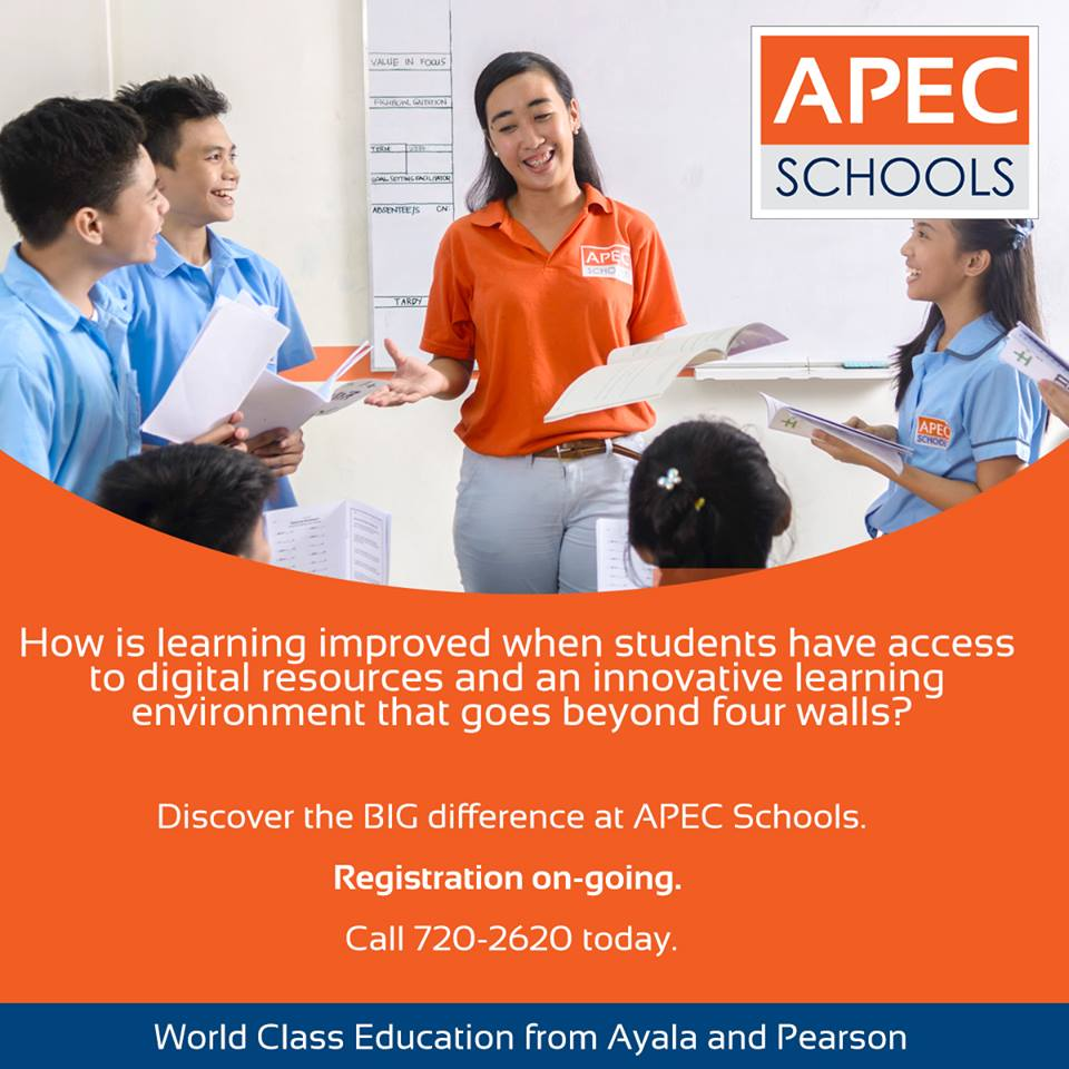 An Open Letter from an APEC School Educator