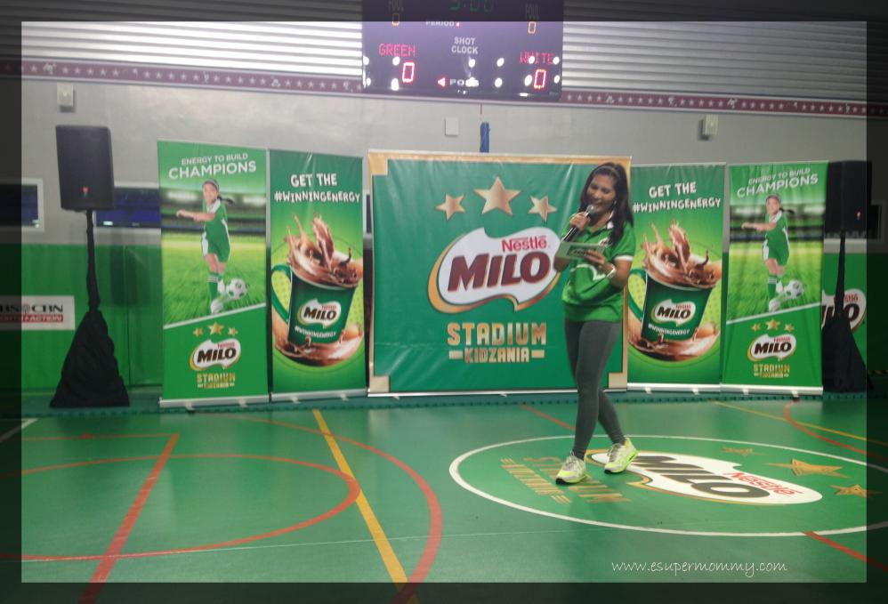 Patricia Hizon hosted the Milo Stadium Launch in KidZania Manila