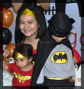 Mommy Jem with kids