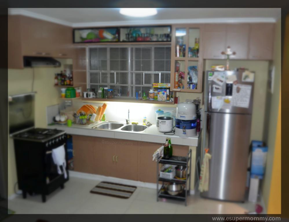 Kitchen interior design, dual sink,