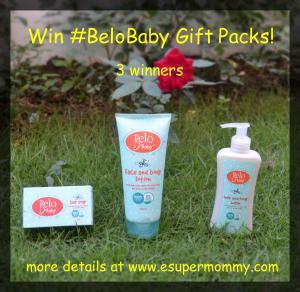 Belo Baby Giveaway
