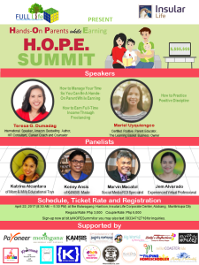 HOPE Summit Poster with Complete Details