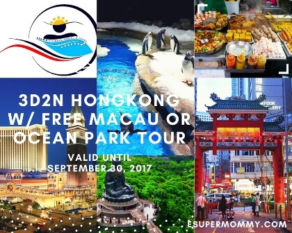 HONGKONG WITH FREE MACAU OR OCEAN PARK TOUR