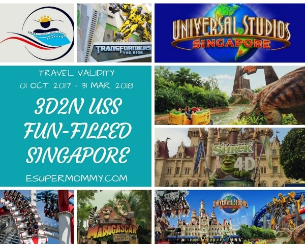 Universal Studio Singapore Travel and Tour Package