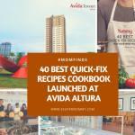 Cookbook Launched at Avida Altura