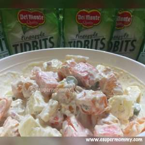 Del Monte Pineapple Potato Salad