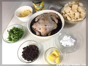 Pine Roast Chicken Holiday Recipe