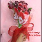 Oh Yummy Rose Lollipop