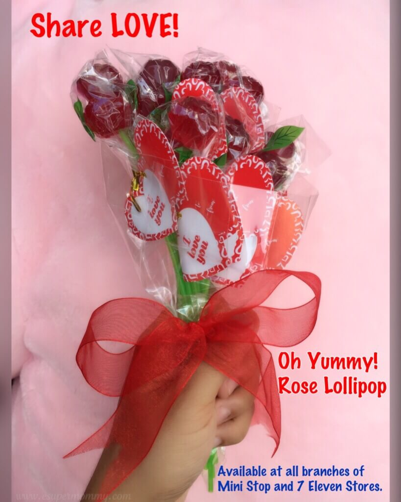 Oh Yummy Rose Lollipop