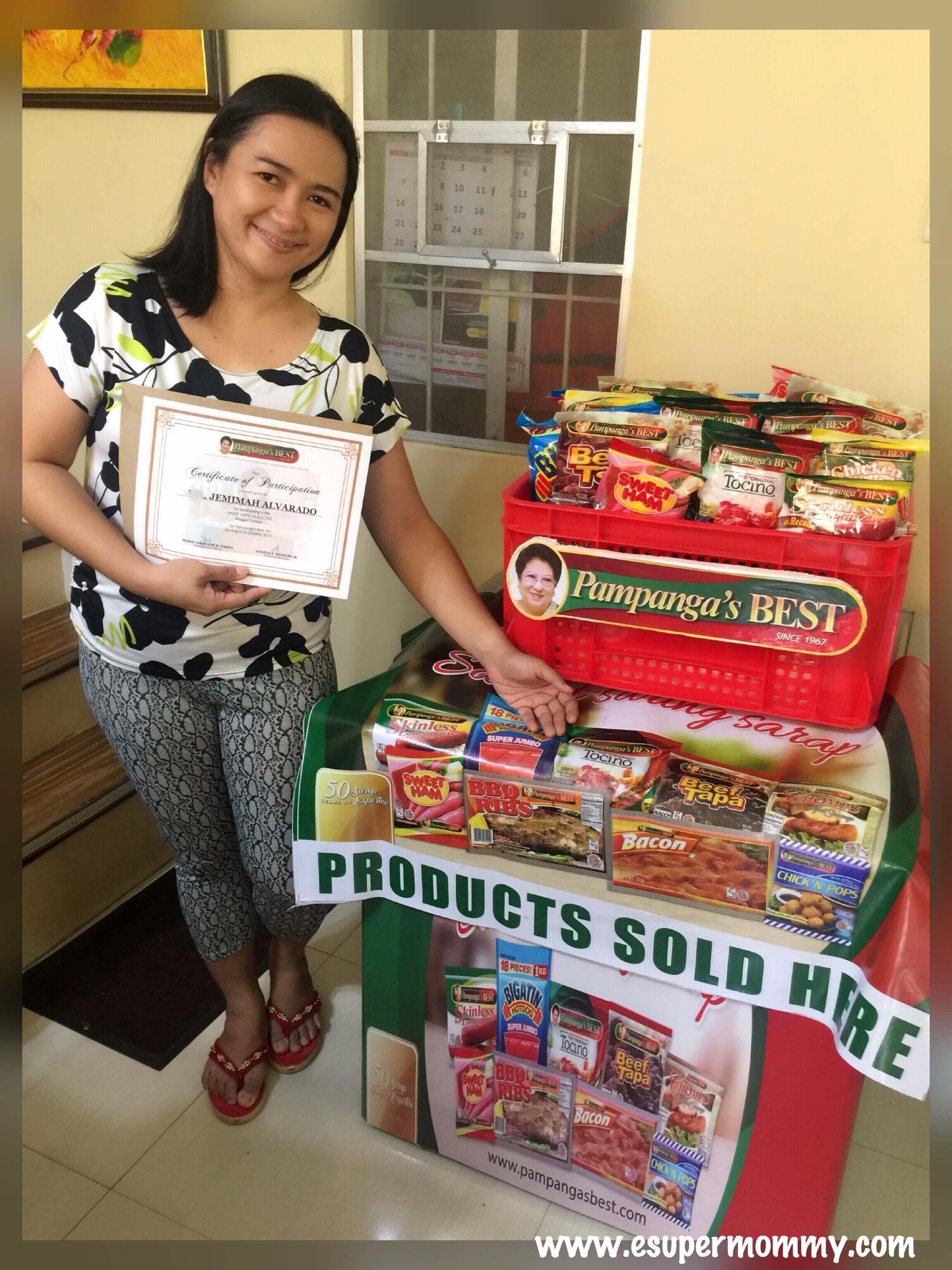 Pampanga's Best Sweet Taste of Success