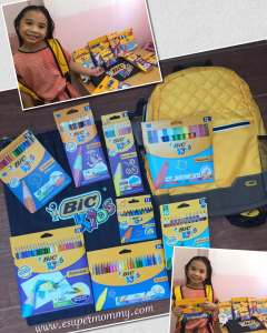 Back-to-school with BIC Kids' Collection Of Coloring Products