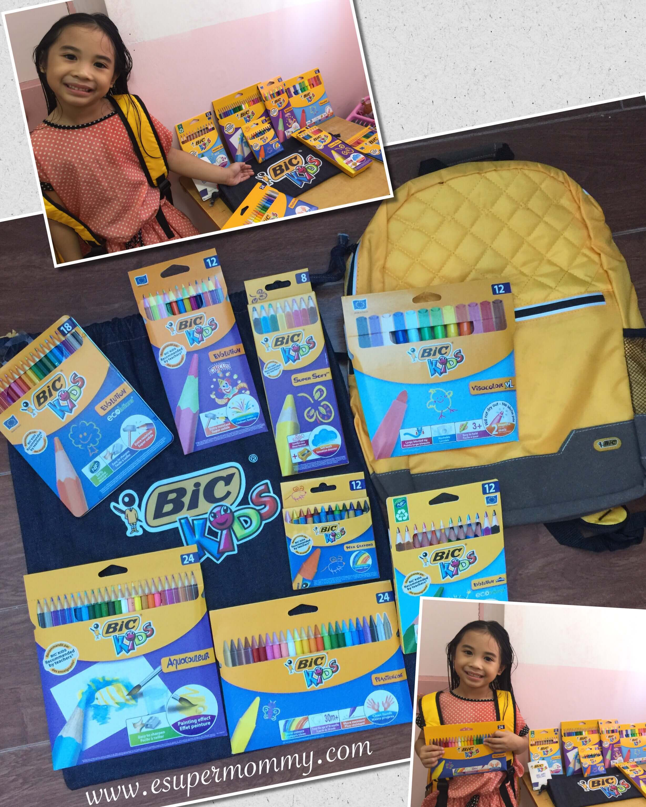BIC Kids' Collection of Coloring Products