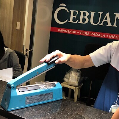 Cebuana Lhuillier Safe and Secured Pawned Items