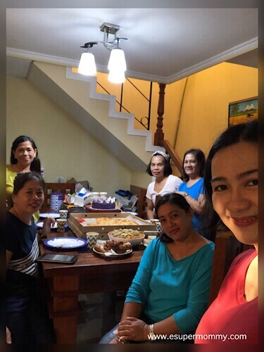 Mommy Jem with friends