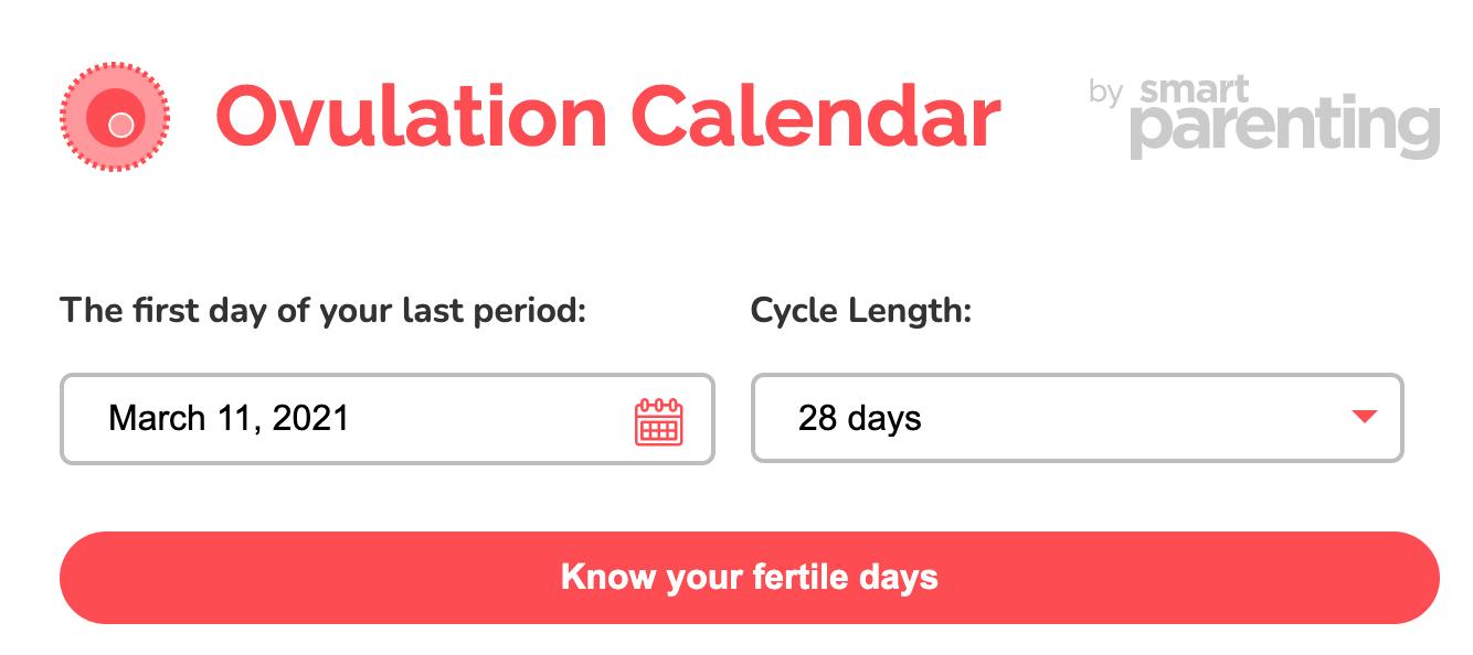 reliable ovulation calculator