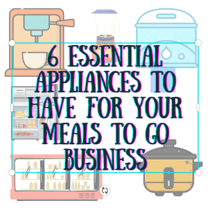 essential appliances meal-to-go
