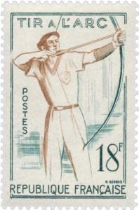 timbre-poste-1958