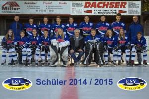 Mannschaftsfoto Schüler 2014-2015-bearbeitet