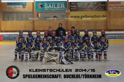 Mannschaftsfoto Kleinstschüler 2014-2015