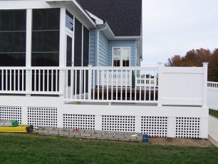 Georgetown Vinyl Railings