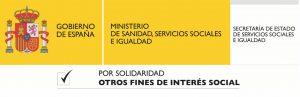 Logo Ministerio de Sanidad Servicios Sociales e Igualdad