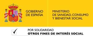 logotipo ministerio de sanida, consumo y bienestar social