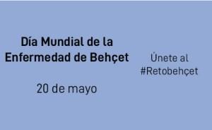 Cartel día mundial de la Enfermedad de Behçet