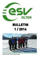 ESV Olten Bulletin 1/2014