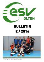 ESV Olten Bulletin 2/2016