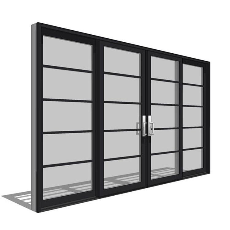 3 panel aluminium doors kitchen sliding door sliding glass patio door with grills design