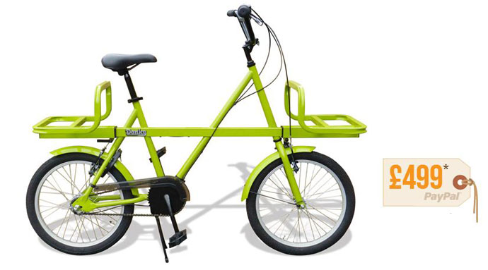 Donky bike web - A bike for life, not landfill