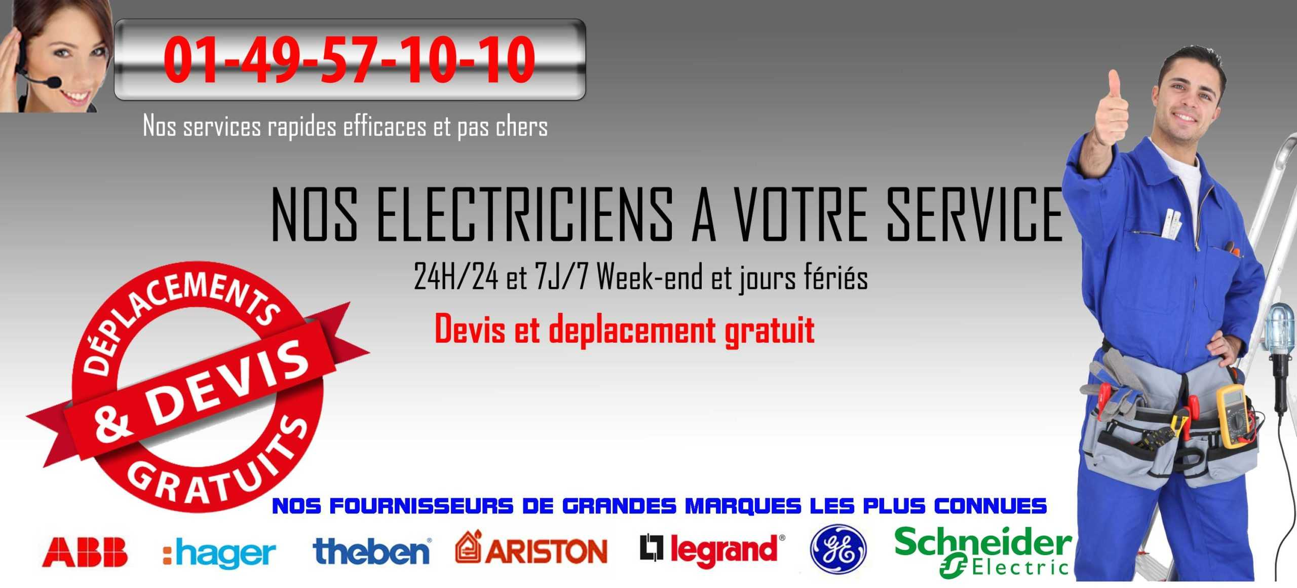 electriciens paris
