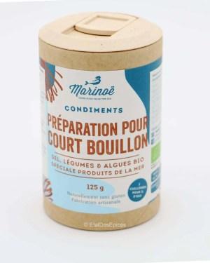 preparation court bouillon marinoe