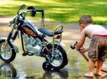 usaha cuci motor