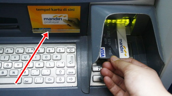 ATM Mandiri E-Money Logo