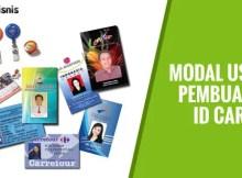 Usaha Pembuatan ID Card