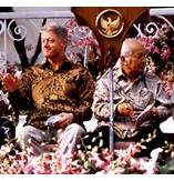 Clinton And Suharto