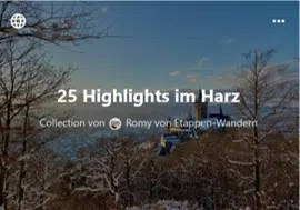 Highlights Harz