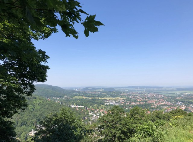 Blick vom Burgberg Bad Harzburg