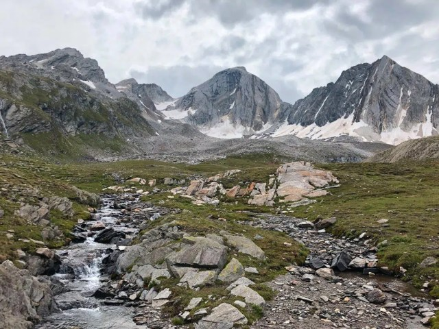 4. Etappe auf dem Höhenweg