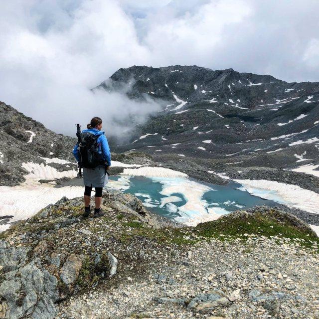 Eisjöchl, Pass am Meraner Höhenweg
