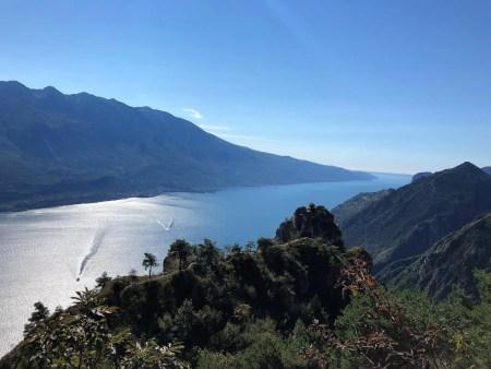 Friedensweg verläuft am Gardasee
