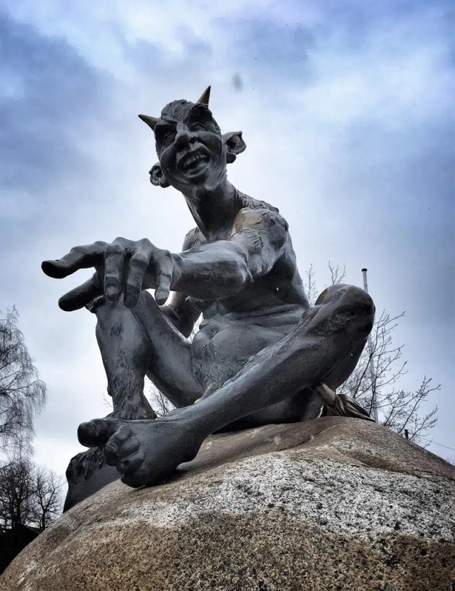 Teufel am Hexentanzplatz