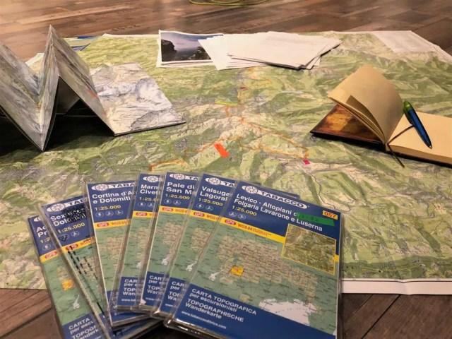 Planung Fernwanderung
