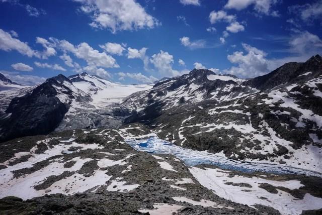 italienische Gletscher