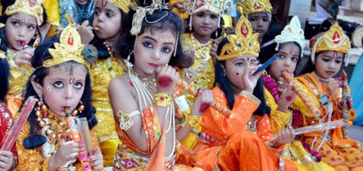 Birthday of Lord Krishna celebrated as Janmashtmi Festival